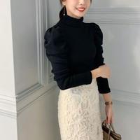 puff rib knit