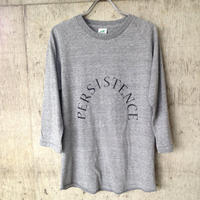 persistence 七分ラグラン T-shirt