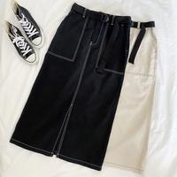 「 ステッチタイトスカート 」