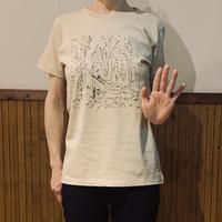 「紅く染まりゆく秋」Tシャツ