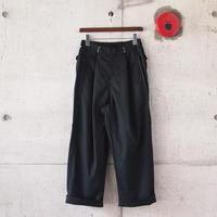 【unisex】Ordinary fits〈オーディナリーフィッツ〉 BOTTLES PANTS BLACK