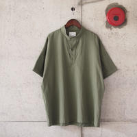 Manual Alphabet〈マニュアルアルファベット〉 COMMAND NEP P/O SHIRT KHAKI
