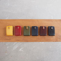 Esperanto〈エスペラント〉 ENGLAND LEATHER CARD CASE YELLOW/RED/GREEN/NAVY/BROWN/BLACK