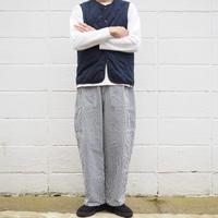【unisex】Ordinary fits〈オーディナリーフィッツ〉 JAMES PANTS stripe  OFF