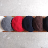 ODDS〈オッズ〉 BASQUE BERET OFF/GREY/RED/NAVY/BROWN/BLACK