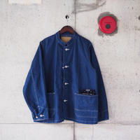 【unisex】Ordinary fits〈オーディナリーフィッツ〉 DENIM COVERALL 1st one wash INDIGO
