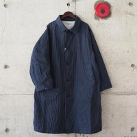 【unisex】Ordinary fits〈オーディナリーフィッツ〉 YARD COAT stripe NAVY