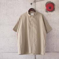 Manual Alphabet〈マニュアルアルファベット〉 COMMAND NEP P/O SHIRT BEIGE