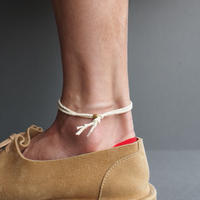 "【unisex】Esperanto〈エスペラント〉  COTTON CORD ANKLET ""571A"" 11color"