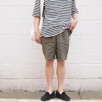 【unisex】Ordinary fits〈オーディナリーフィッツ〉 TRAVEL SHORTS linen KHAKI