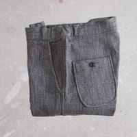 【unisex】FOB FACTORY 〈エフオービーファクトリー〉 RELAX SWEAT PANTS (F0403) CHARCOAL