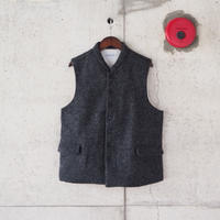Ordinary fits〈オーディナリーフィッツ〉YARD VEST herringbone BLACK
