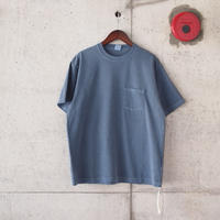Manual Alphabet〈マニュアルアルファベット〉 PIGMENT DEYED T-SHIRT NAVY