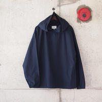 Manual Alphabet〈マニュアルアルファベット〉TYPEWRITER HOOD SHIRT NAVY