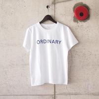 【women】SEIRYU & Co.〈セイリューアンドコー〉 ORDINARY T-SHIRT WHITE
