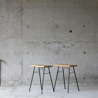 enough works〈イナフワークス〉 IRON Stool ①