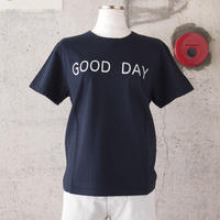 【women】SEIRYU & Co.〈セイリューアンドコー〉 GOOD DAY T-SHIRT NAVY