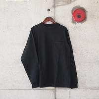 Goodwear〈グッドウェア〉 U.S.A. COTTON LONG SLEEVE TEE BLACK