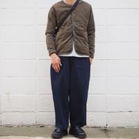 【unisex】Ordinary fits〈オーディナリーフィッツ〉 JAMES PANTS one wash INDIGO