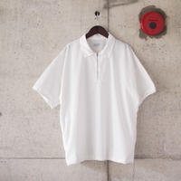 Manual Alphabet〈マニュアルアルファベット〉 PRODUCT DYE POLO WHITE