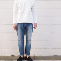 【unisex】Ordinary fits〈オーディナリーフィッツ〉 5POCKET LOOSE DENIM remake (OM-P056RK) A/BLUE