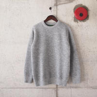 【unisex】have a good day〈ハブアグッデイ〉 SHAGGY SWEATER GREY
