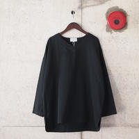 Manual Alphabet〈マニュアルアルファベット〉 MIL SLEEPING SHIRT BLACK