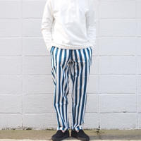 【unisex】COOKMAN〈クックマン〉 CHEF PANTS WIDE STRIPE NAVY