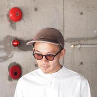 morno〈モーノ〉 CORDUROY B.B. CAP BROWN/NAVY