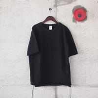 【unisex】have a good day〈ハブアグッデイ〉LOOSE FIT TEE BLACK