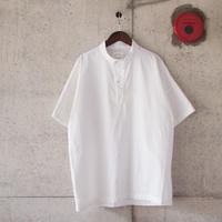 Manual Alphabet〈マニュアルアルファベット〉 COMMAND NEP P/O SHIRT WHITE