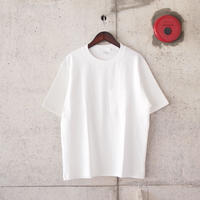 Manual Alphabet〈マニュアルアルファベット〉MILITARY FRAISE T-SHIRTS WHITE/GREY