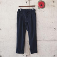 Manual Alphabet〈マニュアルアルファベット〉 STRECH TYPEWRITER TROUSERS NAVY