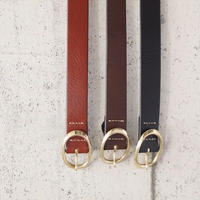 Esperanto〈エスペラント〉  ETRUSCO LEATHER BELT  (ESP-6221) CAMEL/BROWN/BLACK