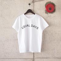 【women】SEIRYU & Co.〈セイリューアンドコー〉 USUAL DAYS T-SHIRT WHITE