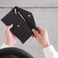 Dono〈ドーノ〉 ENVELOPE LONG  WALLET BLACK