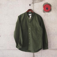 Manual Alphabet〈マニュアルアルファベット〉 RIPSTOP FATIGUE SHIRT OLIVE