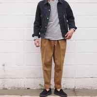 Manual Alphabet〈マニュアルアルファベット〉BRUSHED CHINO TROUSERS CAMEL
