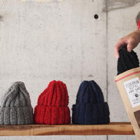 SUBLIME〈サブライム〉 HAND FISHERMAN SILK WATCH CAP GREY/RED/NAVY/BLACK