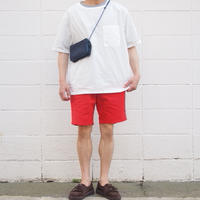 【unisex】Ordinary fits〈オーディナリーフィッツ〉 TRAVEL SHORTS  RED