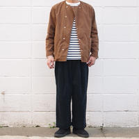 【unisex】Ordinary fits〈オーディナリーフィッツ〉 BOTTLES PANTS corduroy NAVY