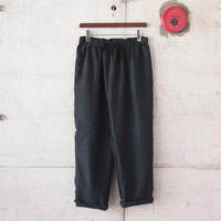 Manual Alphabet〈マニュアルアルファベット〉 SMOOTH THAI PANTS BLACK