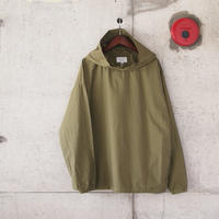 Manual Alphabet〈マニュアルアルファベット〉TYPEWRITER HOOD SHIRT ML.OLIVE