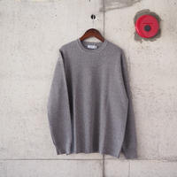 【unisex】Ordinary fits〈オーディナリーフィッツ〉WAFFLE KNIT GREY