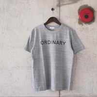 SEIRYU & Co.〈セイリューアンドコー〉 ORDINARY T-SHIRT GRAY