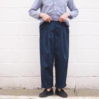 【unisex】Ordinary fits〈オーディナリーフィッツ〉 BOTTLES PANTS NAVY