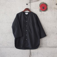 Manual Alphabet〈マニュアルアルファベット〉 TYPEWRITER OVER SHIRT BLACK
