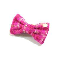 banana clip★fuchsia pink
