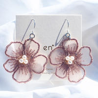 lace flower (pink)