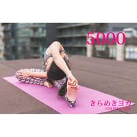 【 きらめきヨガ 】フリーチケット5000